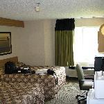 Large comfy room