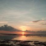 same sunrise, sanur