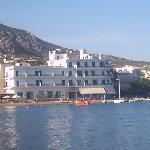 Hotel Minoa from boat