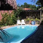 pool at Pousada Guarana