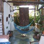 hammocks at Pousada Guarana