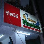 Just w of the Zocolo Restaurant Marisco Nachos