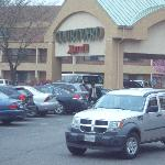 exterior/parking lot