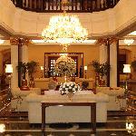 The entrance lobby
