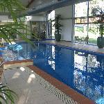 Wonderful indoor heated pool and spa
