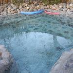 Very hot pool, relaxing