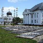 Paramaribo moskee en synagog