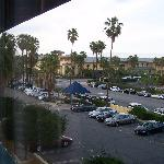 View of the Casino from our room.