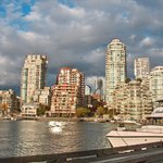 view from Granville Island