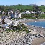 The front in Criccieth