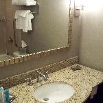 big fluffy towels in the bathroom