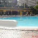 One of the 2 swimming pools