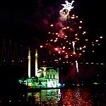 fireworks @ ortakoy
