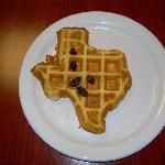 The Lone Star state waffle.