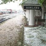 Ashland Train station/visitor center