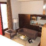 junior suite, kitchen