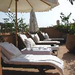 Sun blessed terrace