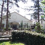 the spa building