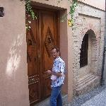 Front door to Horno De Oro