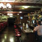 Homely atmosphere in diner