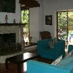 The living room in the Casa Grande.
