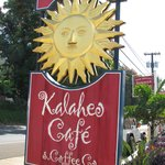 The Sign to look for as you enter Kalaheo