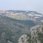 View of Bol from Vidova Gora