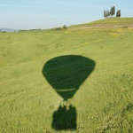 Beautiful shadow of our balloon