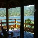 vue depuis le bungalow