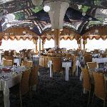 the revolving restaurant on the top-floor