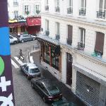 Outside Utrillo window