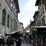 San Lorenzo market ouside hotel