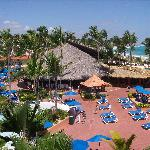 Vista al Bar de la Playa desde la Habitacion