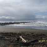 North Jetty and beach