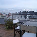Terraza desayuno América Vigo