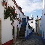 One of the little streets in Obidos