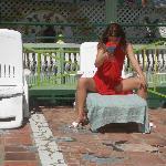 Ein Drink auf dem Sonnendeck