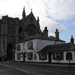 St. Mary's Gat Inn with the cathedral in the background.