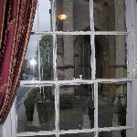View from one of the Cathedral room windows.
