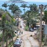 vista del hotel ilha branca