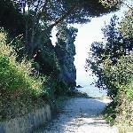 walk to hotel beach