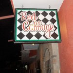Red Cabbage Sign