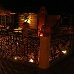 Sympa la terrasse le soir