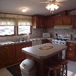 Rental House - Large Kitchen