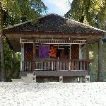 One of the beach bungalows