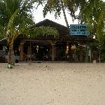 The beach bar & restaurant