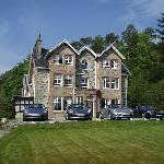 DUisdale House with Boxsters