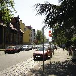 Hohenlohestraße, where the hotel is situated.