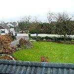 Il giardino visto dalla camera
