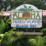 Entrance to Aloha Mixed Plate